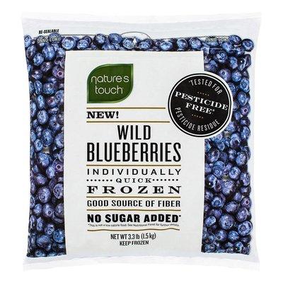 !costco線上代購(宅配免運) #151211 Natrue's Touch 冷凍野生藍莓 1.5公斤X2入*