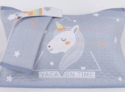 優可誘果家飾-二入純棉三層紗布枕頭巾 柔軟舒適透氣枕頭巾 毛巾