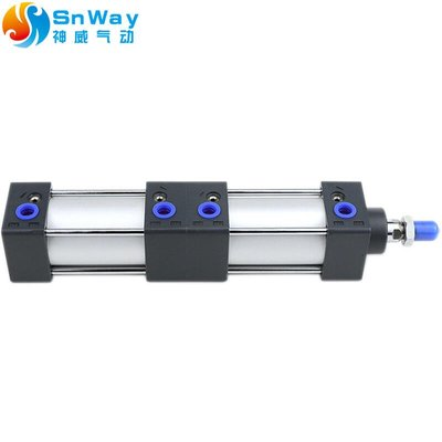 倍力多位氣缸SCT100X70X20-S SCT100X75X0-S SCT100X75X75-S~lsej167523
