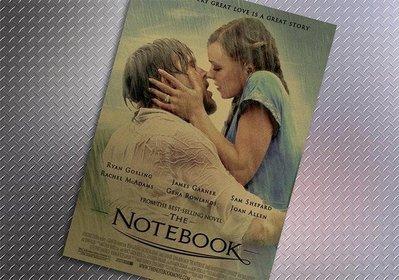 【貼貼屋】手札情緣 The Notebook 懷舊復古 牛皮紙 海報 壁貼 店面裝飾 經典電影海報 536