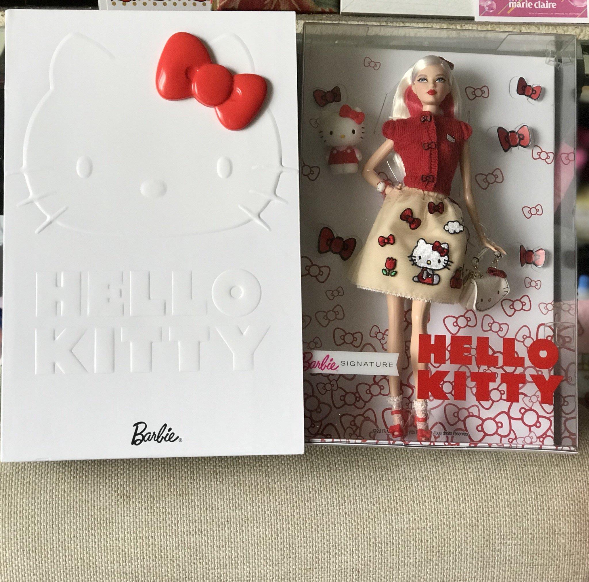 美國帶回 Hello Kitty x Barbie  娃娃  全新 現貨