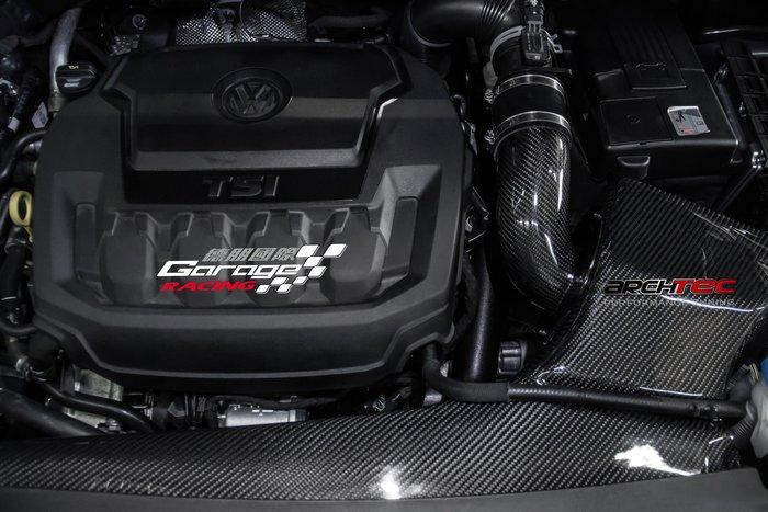 德朋國際 / Archtec碳纖維進氣組 VW NewTiguan 2.0TSI 歡迎詢問~