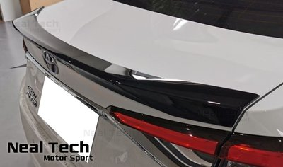 Toyota Altis 12代 G款運動版尾翼  全新含烤漆 ABS材質 密合度極優
