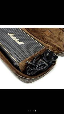 全新 Marshall 英國搖滾輕旅行攜帶型藍芽喇叭STOCKWELL 隨身旅行包