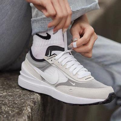 [歐鉉]NIKE WAFFLE ONE GS 灰白 小SACAI 運動 休閒鞋 女鞋 DC0481-100