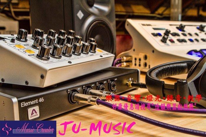 造韻樂器音響-JU-MUSIC- 全新 Apogee Element 46 Thunderbolt 錄音介面 另有 24