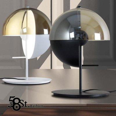 【58街燈飾-新竹館】「LED光源_圓規台燈」檯燈,美術燈。複刻版。GL-163