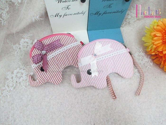 ☆[Hankaro]☆可愛大象造型零錢包(樣品出清)