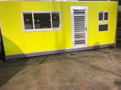 20呎組合型貨櫃屋(有衛浴)