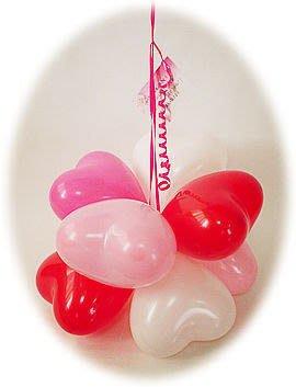 【氣球批發廣場】台灣HB12吋心型心形粉面標準氣球 100入 造型氣球愛心汽球婚禮會場佈置情人節