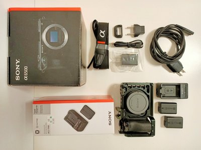 Sony A6500 單機身(含兔籠) 中古二手公司貨/ APS-C單眼相機/ 2420萬像素/ 5軸5級機身防手震