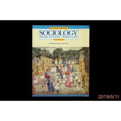 【9九 書坊】SOCIOLOGY│0071128050│RICHARD T.SCHAEFER ROBERT P.LAMM