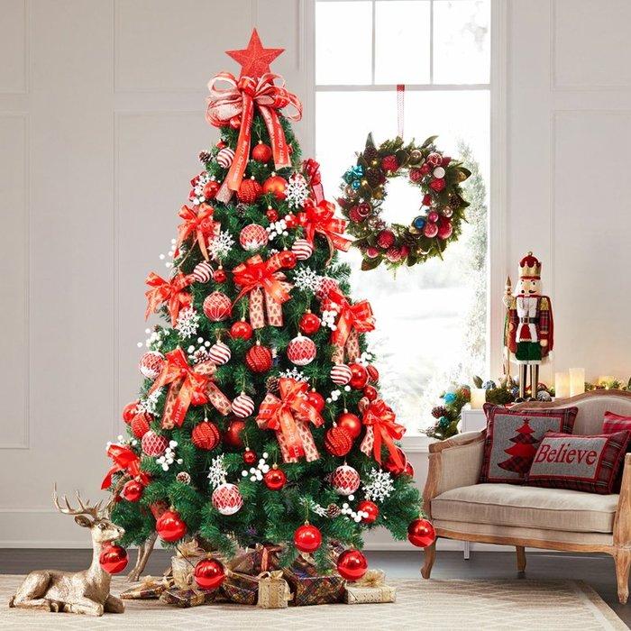 禧禧雜貨店-圣誕裝飾品 圣誕節禮物圣誕節裝飾圣誕樹套餐1.8/1.5米圣誕樹套裝#萬聖節道具#萬聖節裝飾#萬聖節服裝#萬