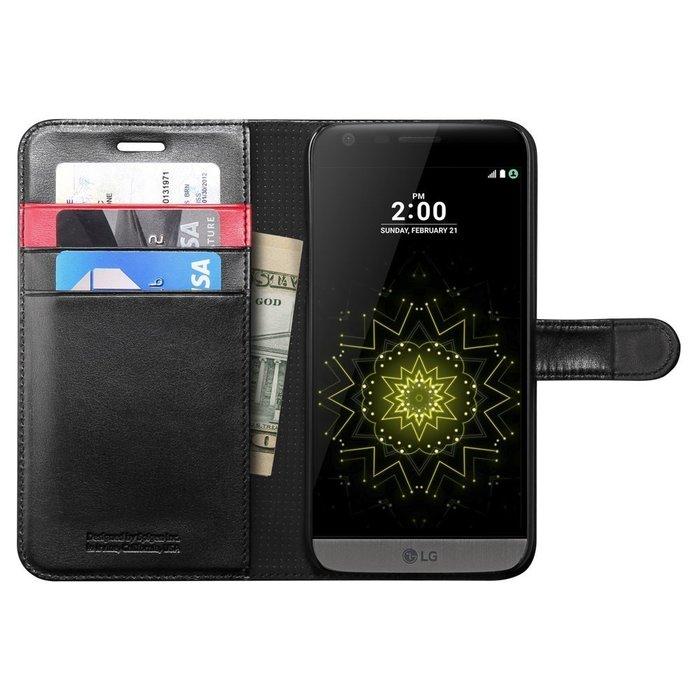 全新韓國正品 SGP SPIGEN LG G5 Wallet S 掀蓋錢包插卡保護套 保護殼 黑色