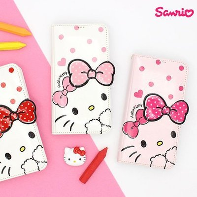 Hello Kitty 吸盤皮套 手機殼│S7 Edge S8 S9 S10 S10E│z7847