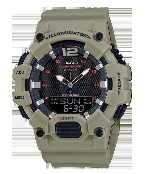 [ㄚ寶3C ] CASIO HDC-700-3A3 液晶部分可顯示日期與星期,搭載10年電力的電池