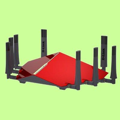 5Cgo【權宇】D-LINK DIR-895L Wireless AC5300 雙核三頻 Gigabit無線路由器 含稅 台北市