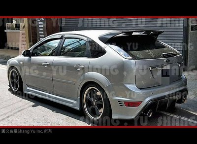 福特 FORD FOCUS MK2 RS 後保桿 後保 2005 2006 2007 2008