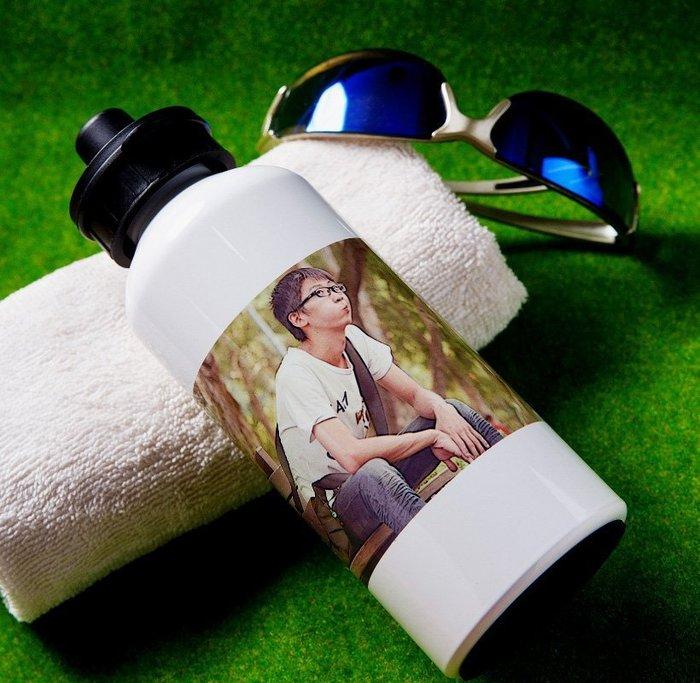 【轉印王-隨身運動水壺】 個性化印刷 客製化 熱轉印 生日禮 紀念品 情人節 潮T 照片 相片 馬克杯 婚禮小物 せ