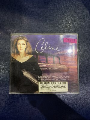*還有唱片行*CELINE DION / MY HEART WILL GO ON 二手 Y14217 (149起拍)
