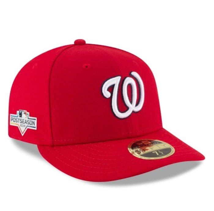 《FOS》New Era WASHINGTON NATIONALS 華盛頓國民 棒球帽 季後賽 2019 美國職棒大聯盟
