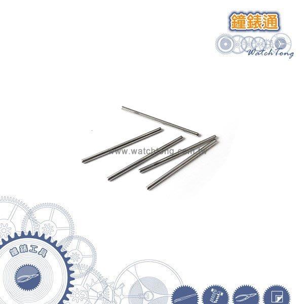 【鐘錶通】05C.1002 棒針型針沖頭-六角短針沖汰換頭 0.7/0.8/1.0_單支售├錶帶工具/拆鍊工具┤