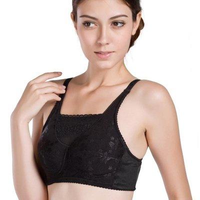 無鋼圈義乳文胸二合一術后專用硅膠假乳房腋下夏季乳腺胸罩AMXP