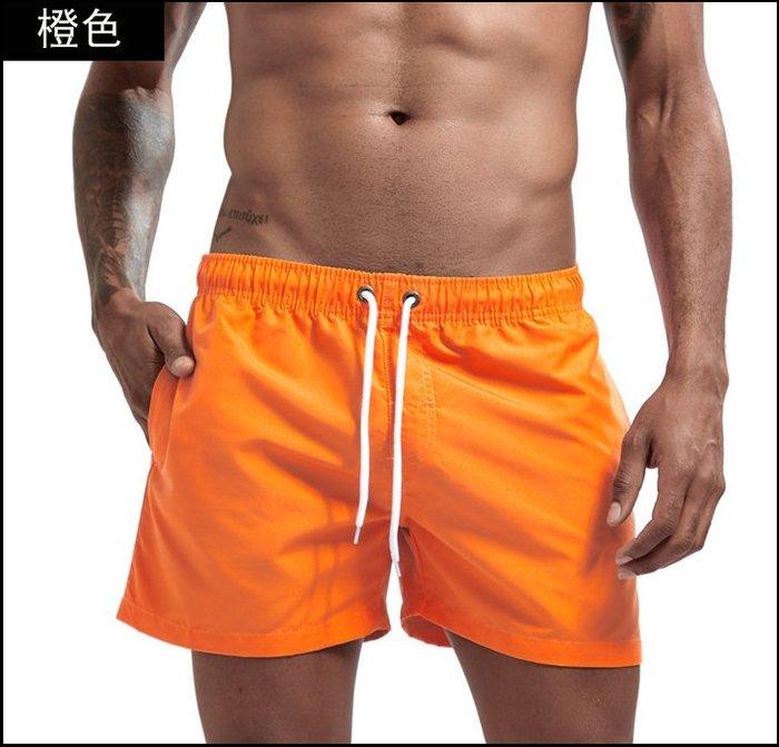 【褲衩】JOCKMAIL 純色口袋男士短褲 家居褲爽滑沙灘褲修身三分褲運動短褲貨號:FY002