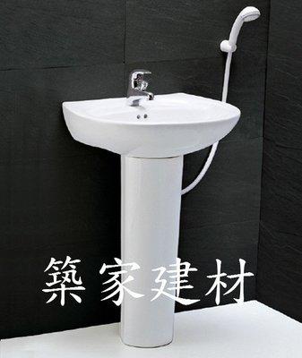 【AT磁磚店鋪】CAESAR 凱撒衛浴 LP2220S/B136C 面盆瓷腳+龍頭 整組價 小套房好用 超值划算組