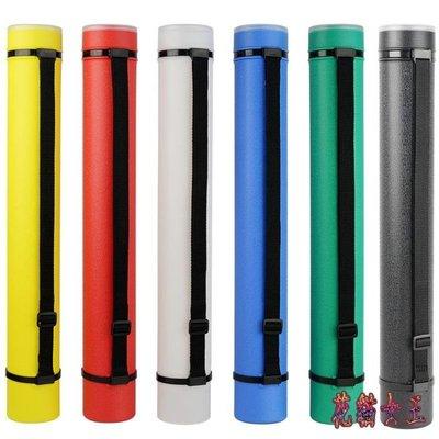 伸縮畫筒 畫桶海報裝書畫筒收納圖紙筒可加長圓形畫筒 QX12346 【全館免運】