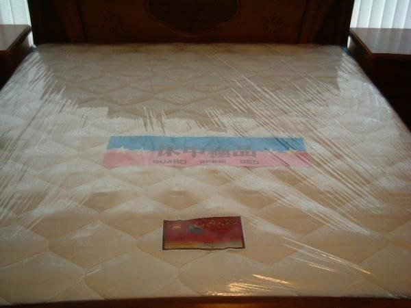 ※專業睡眠館※歐式『標準硬式』鎢鋼護背彈簧床墊 單人3.5尺~雙ISO國際品質認證