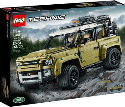 Lego Technic 42110 Land Rover Defender - 全新