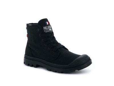 =CodE= PALLADIUM PAMPA HI OG CM 帆布軍靴(黑)75841-001 ORIGINALE 女