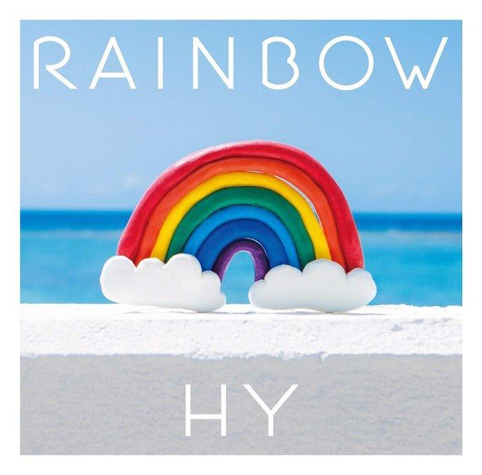 特價預購 HY RAINBOW (日版初回限定盤CD+DVD) 最新2019 航空版
