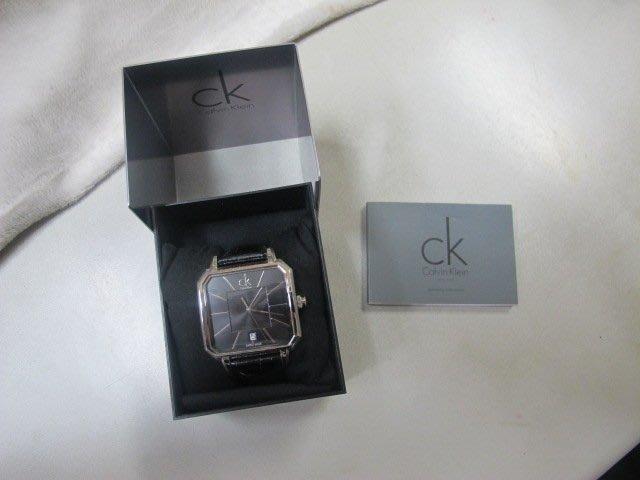 二手舖 NO.1500 Calvin Klein CK經典時尚錶
