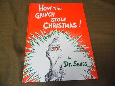 【彩虹小館】L3英文童書~HOW THE GRINCH STOLE CHRISTMAS!(精裝本)Dr. Seuss