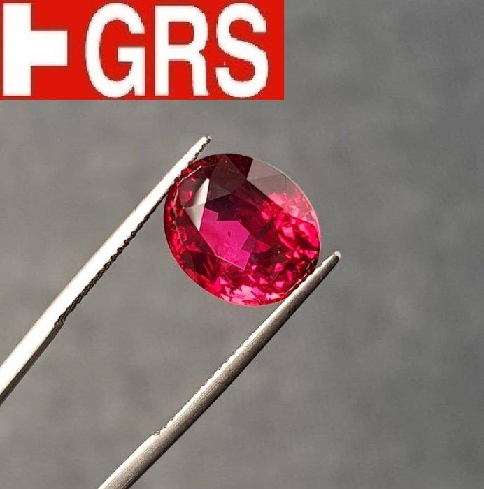 【台北周先生】天然紅寶石 超大10.02克拉 正頁鴿血 無燒 近乎完美 莫桑比克產 送GRS證書 新