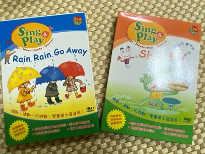 信誼英文ABC SingPlay系列:Rain,Rain,Go Away   Shoo Fly DVD