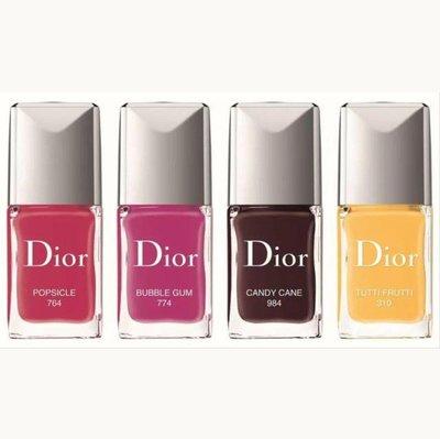 Dior 迪奧 指甲油 色號 774 石榴紅