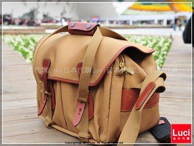 白金漢 Billingham 335 手提側背包/經典材質 現貨 卡其色/褐色 相機包 相機界LV ♡LUCI日本代購♡