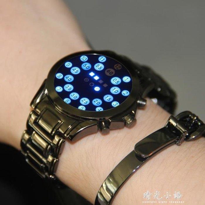 電子手錶智慧多功能黑科技學生ins超火的 無指針概念手錶男特種兵
