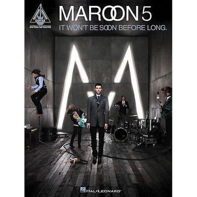 [反拍樂器] Maroon 5 - It Won't Be Soon Before Long 樂團團譜、總譜精選