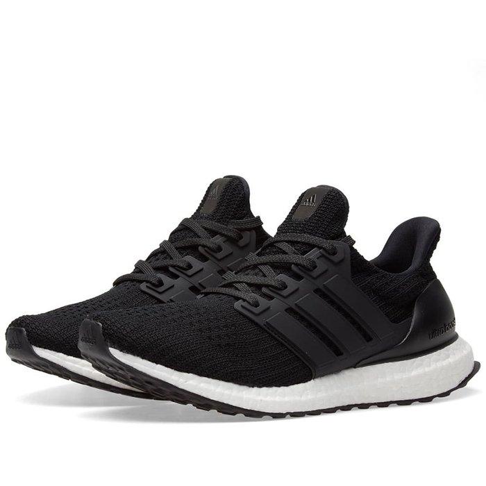 Adidas Ultra Boost 4.0 黑色 黑白 編織 馬牌 BB6166 -SPEEDKOBE-