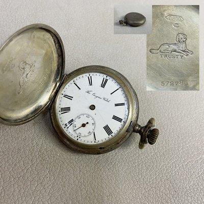 【藏舊尋寶屋】品牌 TRUSTY 懷錶 *收藏/壞品*※210922061826D(1元起標 無底價)