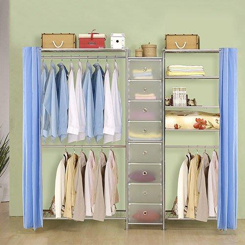 【中華批發網DIY家具】D-62A-14-W2型90+pp+W5型60衣櫥置物櫃-(前罩)不織布
