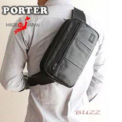 巴斯 日標PORTER屋- 預購 PORTER ALOOF 小牛皮腰包 023-03761