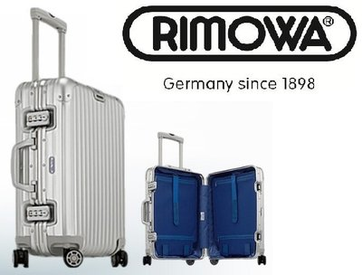 RIMOWA代購- Topas銀29吋中型四輪旅行箱 924.70.00.4