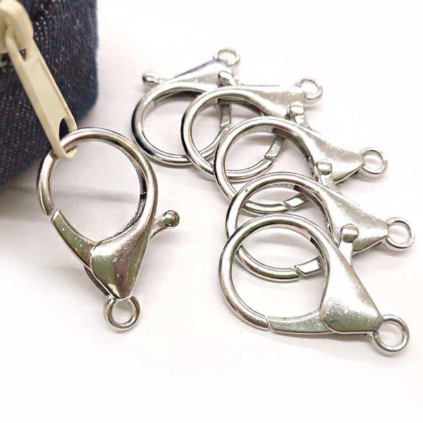 【贈品禮品】 A4366 龍蝦扣/鑰匙圈DIY手作飾品材料/問號勾手創掛飾/手工藝素材/贈品禮品