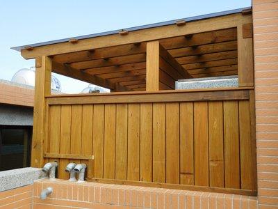 南方松 採光罩 遮雨棚 遮陽棚 雨棚 【園匠工坊】免費到府估價
