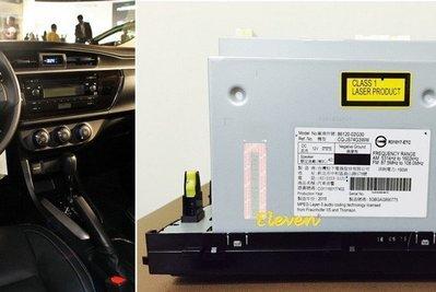 【Eleven】TOYOTA ALTIS 原廠DVD音響主機 全新車拆下 (含面板 不含線組) 全新 原廠音響 汽車音響